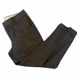 BANANA REPUBLIC The Martin Fit Plaid Cuffed Pant